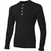 Aclima Unisex Granddad Shirt Jet Black